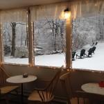 lobby with snow nov 2014